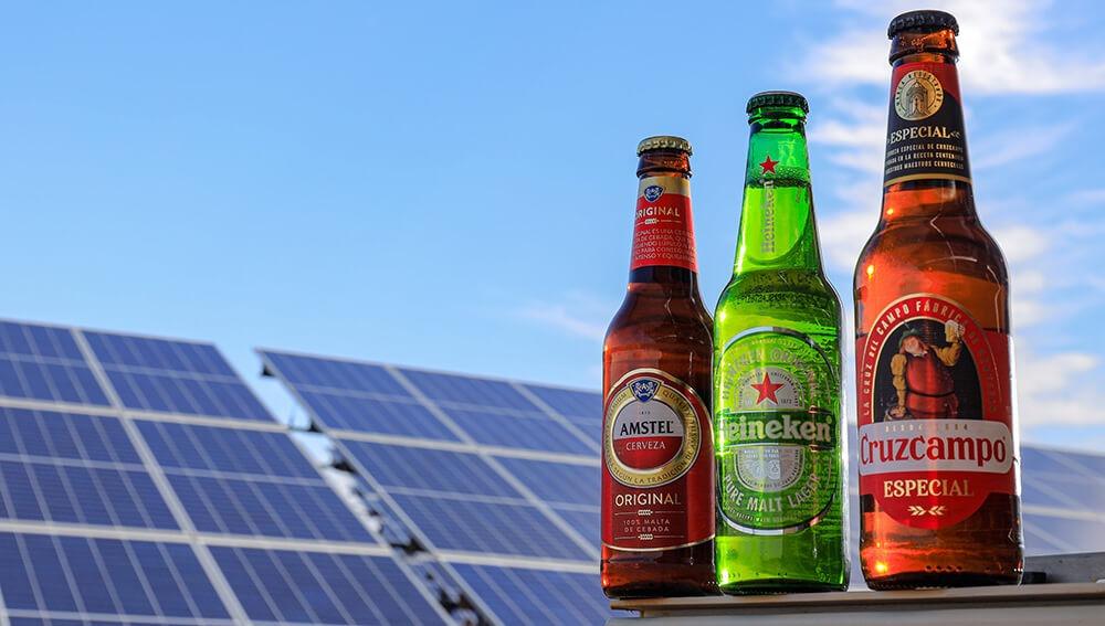 Cruzcampo, Heineken y Amstel con energía renovable