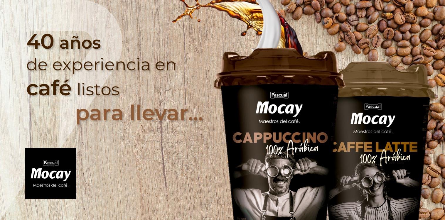 Vasos Ready to Drink de café Mocay