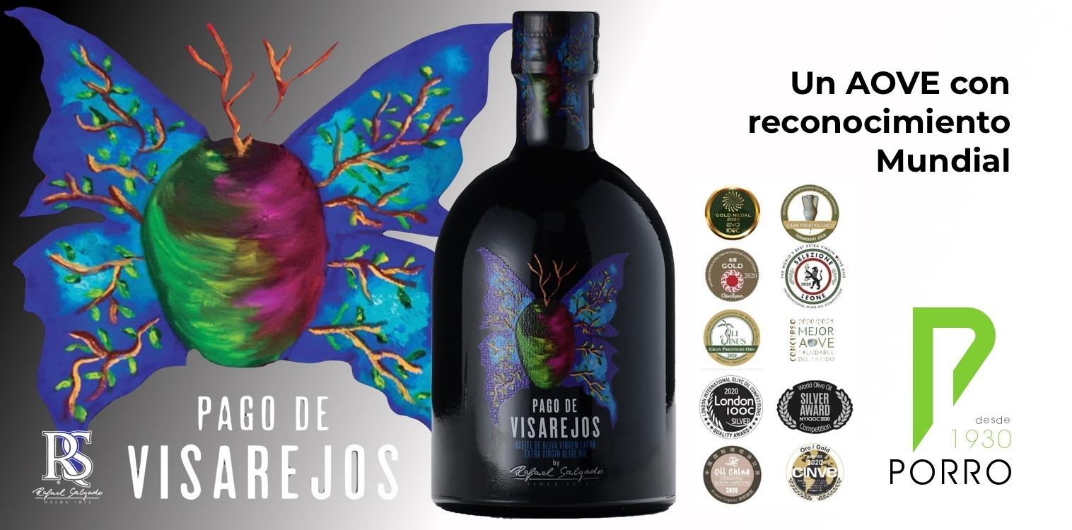 AOVE Pago de Visarejos, de reconocimiento mundial, dsitribuido por Distribuciones Porro.