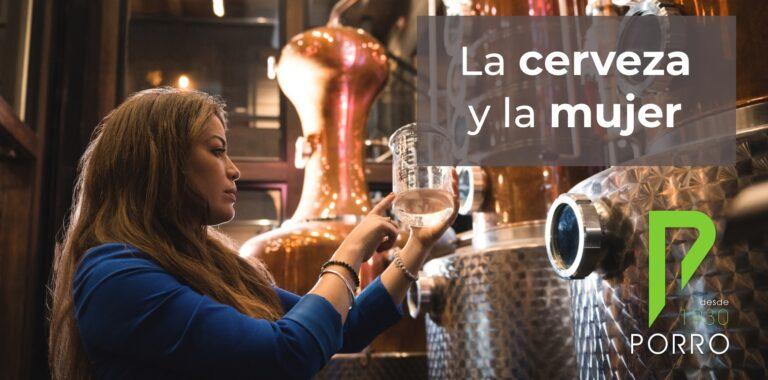 La mujer y la elaboración de cerveza. Distribuciones Porro.