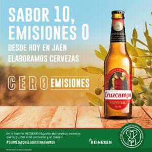 La fábrica de Heineken en Jaén es la primera planta cervecera cero emisiones.