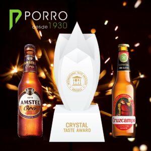 Cruzcampo y Amstel triunfan en los Superior Taste Awards 202