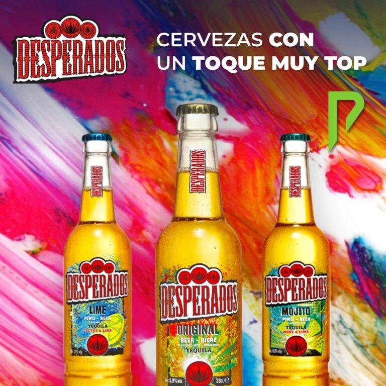 Cerveza Desperados con un toque muy top disponibles en Distribuciones Porro