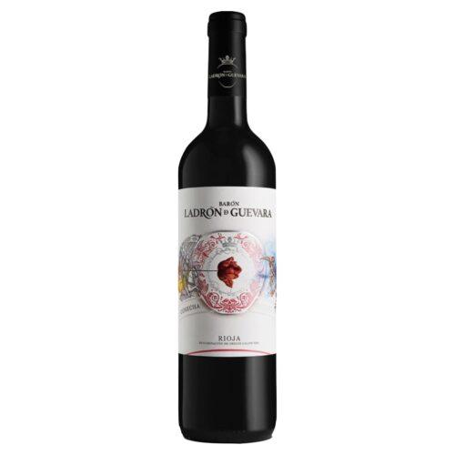 Barón Ladrón de Guevara Cosecha, DO La Rioja, disponible en Distribuciones Porro.