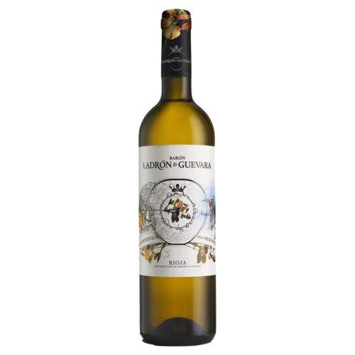Barón Ladrón de Guevara Semidulce, DO Rioja, vino blanco distribuido por Distribuciones Porro