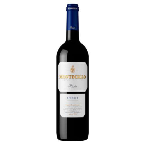 Montecillo Reserva, vino tinto de la Rioja distribuido por Distribuciones Porro