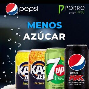 Reduce el azúcar en los productos de PepsiCo