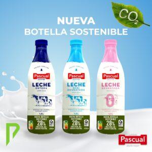 Nueva Botella Sostenible Leche Pascual, Distribuciones Porro en Arcos de la Frontera